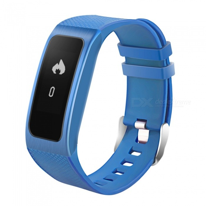 DB04 Smart Bracelet with Heart Rate and Blood Pressure - BlueSmart Bracelets<br>Form  ColorBlueModelDB04Quantity1 DX.PCM.Model.AttributeModel.UnitMaterialABSShade Of ColorBlueWater-proofIP68Bluetooth VersionBluetooth V4.0Touch Screen TypeYesCompatible OSAndroid 4.3,IOS 8.0 or higher osBattery Capacity60 DX.PCM.Model.AttributeModel.UnitBattery TypeLi-polymer batteryStandby Time192 DX.PCM.Model.AttributeModel.UnitPacking List1 x Smart Bracelet1 x User manual<br>
