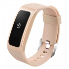 DB04 Smart Bracelet with Heart Rate and Blood Pressure - Golden