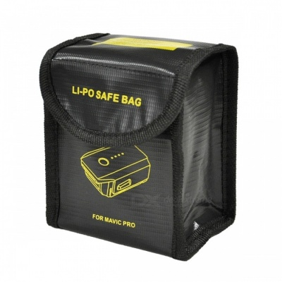 Explosion-Proof Fabric Storage Bag for RC Li-Po Battery 105*110*80mm