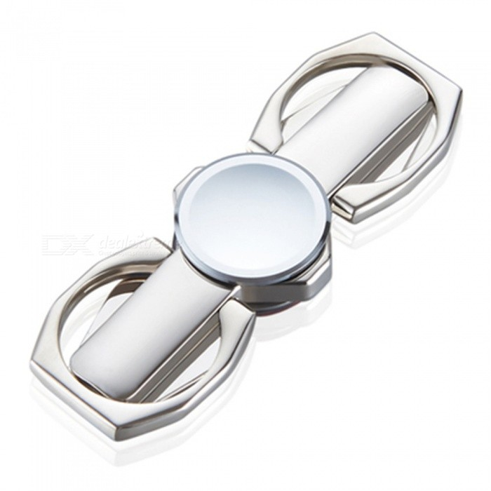 Multifunctional Fingertip Fidget Toy Ring Support - Silver
