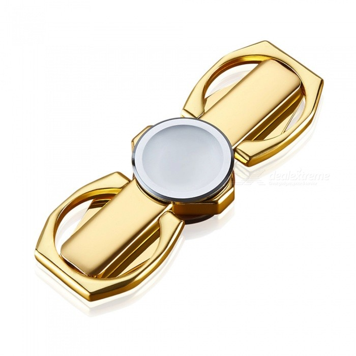 Multifunctional Fingertip Fidget Toy Ring Support - Golden