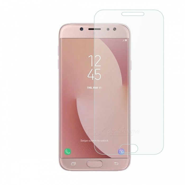 Dayspirit Tempered Glass Film for Samsung Galaxy J7(2017), J730Screen Protectors<br>Form  ColorTransparentScreen TypeGlossyModelN/AMaterialTempered glassQuantity1 pieceCompatible ModelsSamsung Galaxy J7(2017)/J730Features2.5D,Tempered glassPacking List1 x Tempered glass screen protector1 x Dust cleaning film 1 x Alcohol prep pad<br>