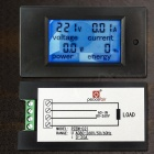 AC 80V-260V 20A LCD Display Digital Current Voltmeter Ammeter