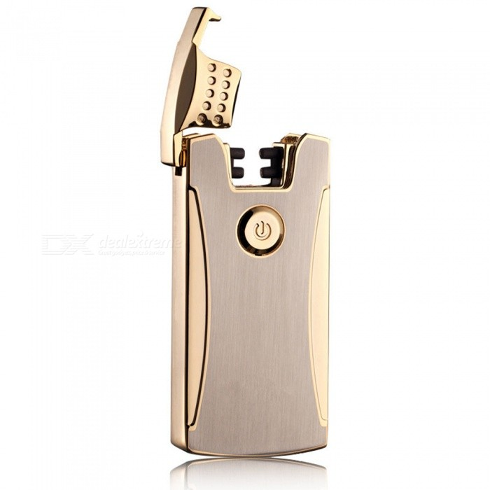 ZHAOYAO USB Rechargeable Electronic Cigarette Lighter - Golden