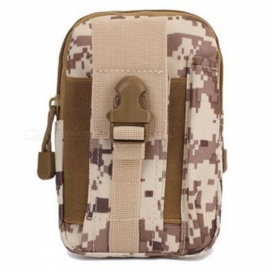 1000D Tactical Bag, Molle Oxford Waist Belt Bag - Marpat Desert