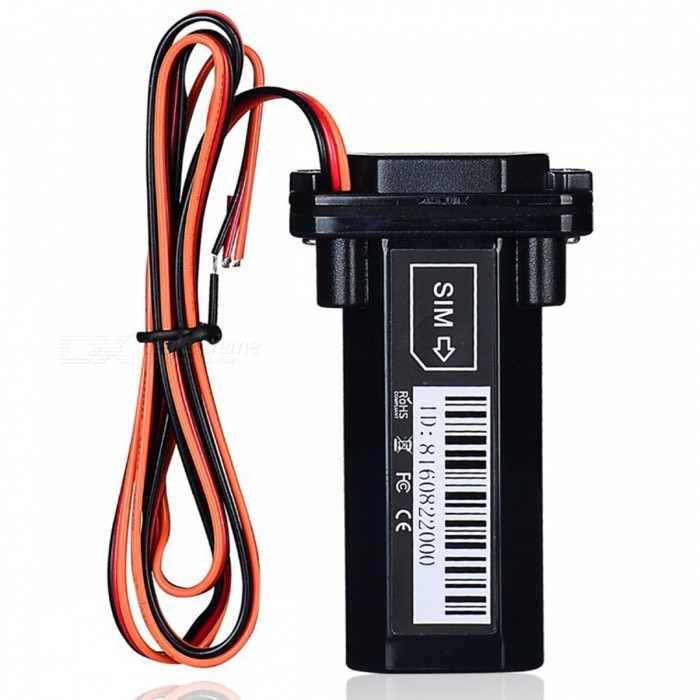 Mini Waterproof GSM GPS Tracker Built-in BatteryVehicle Tracking Systems<br>Form  ColorWith Battery and BoxModelST-901Quantity1 pieceMaterialPlasticNetworkGPS,GSM,GPRSBand850MHz,900MHz,1800MHz,1900MHzSIM Card Qty.one SIMEmergency Phone Number Qty.0Tracking Information MethodGPRS,Monitoring and Controlling PlatformSupported LanguagesOthers,N/AGPS ChipUBLOX7020GPS Sensitivity- 162 dBmGPS Channel1Position Accuracy10mAltitude LimitN/A cmTime to First Fix0.1 sHot Startup TimeN/A hourWarm Startup TimeN/A hourCold Startup TimeN/A hourSOSYesGeo-fenceYesVibrating AlertsNoRemote MonitoringNoEngine Cut OffYesRealtime MonitoringNoTrack PlaybackNoACC Anti-TheftYesOverspeed AlertsYesLow Battery AlertsYesGPS Blind Area AlarmYesVoice CallNoWaterproof FunctionYesWaterproof GradeN/APower SupplyN/ABattery Capacity150 mAhWorking Humidity5% to 95% Non-condensingWorking Temperature-20° to 55° ?Installation LocationVehiclePacking List1 x ST-901 GPS Tracker 1 x Battery &amp; Box<br>