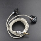 KZ ZST / ZST Pro Upgraded Plated Silver Braided Cable Silver - Silver