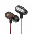 KZ ZSE Dual Unit Drive In-Ear Bass HIFI Earphone - Black