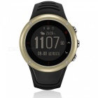 """S23 Outdoor Sports 1.2"""" Smart Watch with GPS Tracker - Golden"""