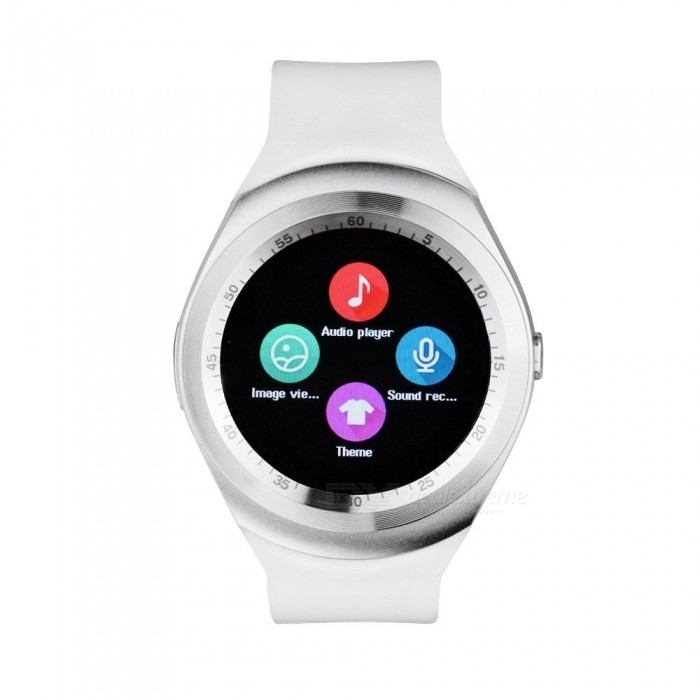 "Y1 Smart Watch 1.54 ""Touch Screen Fitness Activity Tracker - Vit"