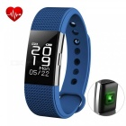 F2 Smart Bracelet with Fitness Tracker, Heart Rate Monitor - Blue