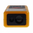 Outdoor Mini Multifunction Laser Rangefinder 80m - Yellow