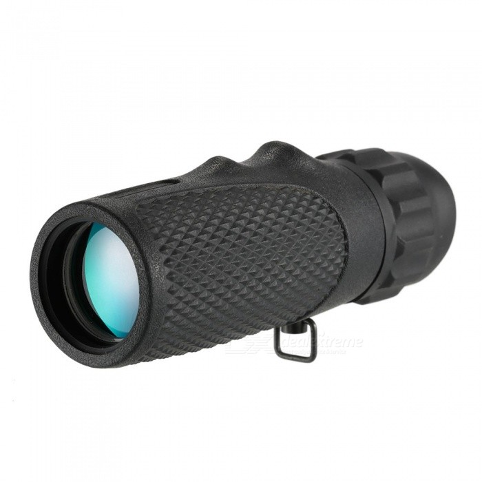 10X 25 Mini Monocular Telescope - Black