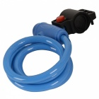 CARKING Bike Coil Security Lock Cable Chain with Two Keys - Blue