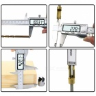 150mm Stainless Steel Digital Caliper (in/mm LCD)