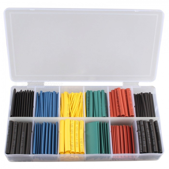 Hengjiaan 280Pcs 5 Colors Heat Shrink Tubing Tubes Source · All packages from DX com are sent without DX logo or any information indicating DX com