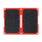High Efficiency 14W 5V 2.8A Dual USB Sortie ETFE Chargeur solaire pliable