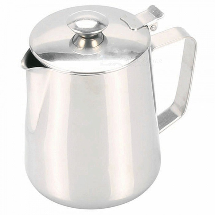 2L 304 Stainless Steel Thick Water Kettle, Coffee Cup with Cover