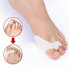 BSTUO Silicone Gel finger Toe Separator Thumb Valgus Protector