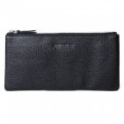 Stylish Top Layer Cowhide Leather Men's Long Wallet Purse