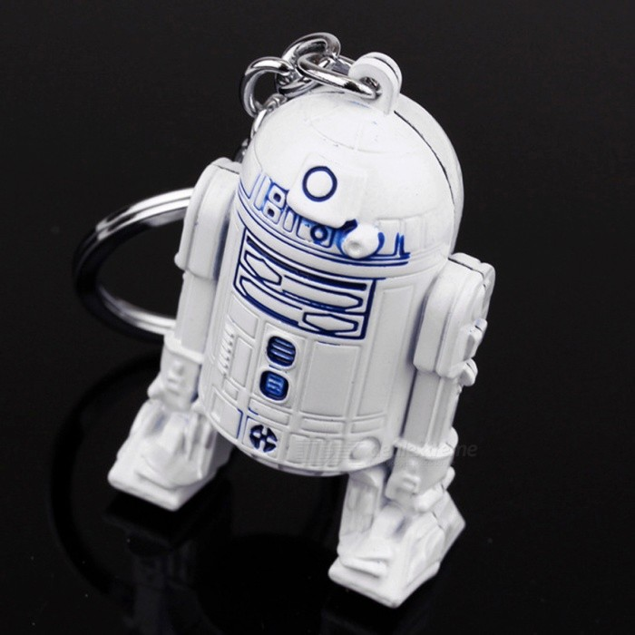 Star wars robot model key chain white free shipping - Robot blanc star wars ...