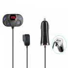 Bluetooth Car Kit Handsfree Wireless Bluetooth Music FM Transmitter