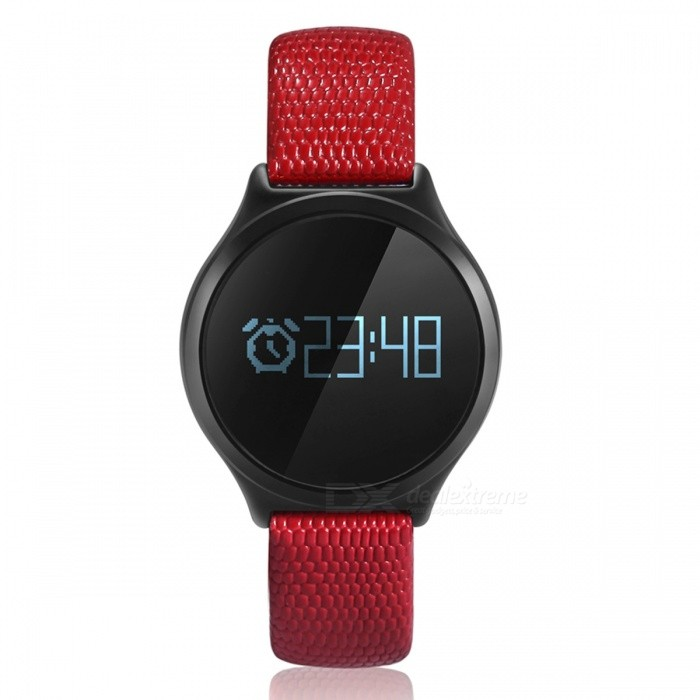 M7S Smart Bracelet with Heart Rate Blood Pressure - Black�� Red