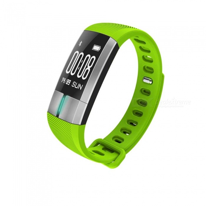 G20 0.73 OLED Smart Bracelet with Heart Rate ECG Monitor - GreenSmart Bracelets<br>Form  ColorGreen + MulticoloredQuantity1 pieceMaterialABSShade Of ColorGreenWater-proofIP67Bluetooth VersionBluetooth V4.0Touch Screen TypeYesCompatible OSAndroid 4.4 and aboveiOS 8.2 and aboveBattery Capacity110 mAhBattery TypeLi-polymer batteryStandby Time10 daysPacking List1 x Smartwatch1 x Instruction<br>