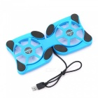 Mini Laptop Cooling Pad Fan Cooler for Notebook Radiator