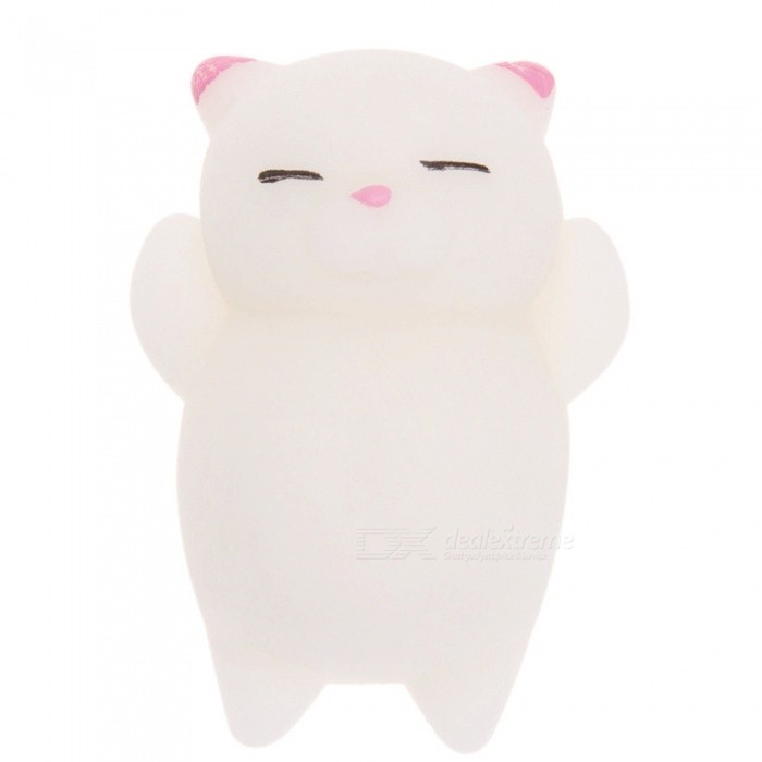 Cute Squishy Soft Doll Funny Kids Toys Novelty Gift Stress RelieverStress Relievers<br>Form  ColorWhiteMaterialABSQuantity1 pieceSuitable Age 3-6 months,6-9 months,9-12 months,13-24 months,3-4 years,5-7 years,8-11 years,12-15 years,Grown upsPacking List1 x Toy<br>