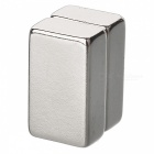 JEDX 25mm x 15mm x 10mm Rectangle NdFeB Neodymium Magnets (2 PCS)