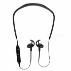 Cwxuan Sports Bluetooth V4.2 Stereo Earphone with Mic - Black