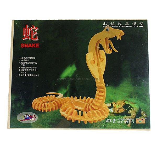 Woodcraft Construction Kit - Snake