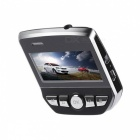 "2.45"" Hidden Car DVR 1080p Full HD with Wi-Fi - Black"
