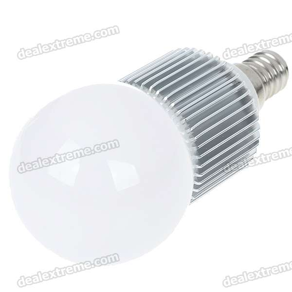 E14 3W 260-Lumen Warm White Light Lamp Bulb (85~265V)