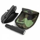 Multi-function Camping Shovel Military - Black