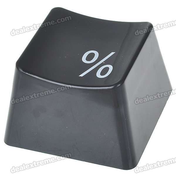 Unique Keyboard Button Style Storage Box - Black