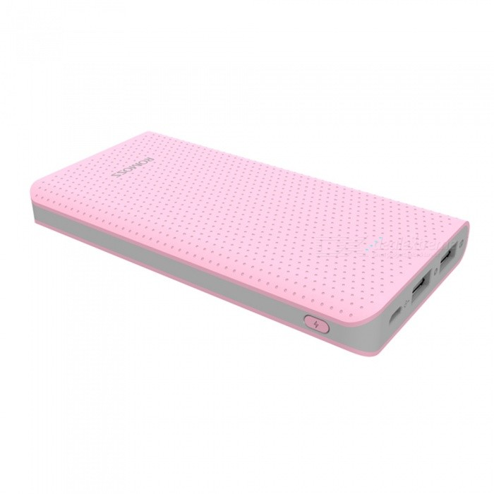 ROMOSS Sense10 2.1A Chargeur rapide 10000mAh Portable Power Bank - Rose