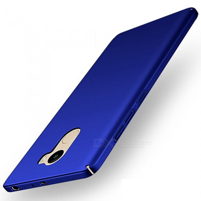 Naxtop PC Hard Protective Back Case for Xiaomi Redmi 4(2GB+16GB)- BluePlastic Cases<br>Form  ColorBlueModelN/AMaterialPCQuantity1 pieceShade Of ColorBlueCompatible ModelsXiaomi Redmi 4(2GB+16GB)FeaturesDust-proof,Shock-proof,Easy-to-removePacking List1 x Case<br>