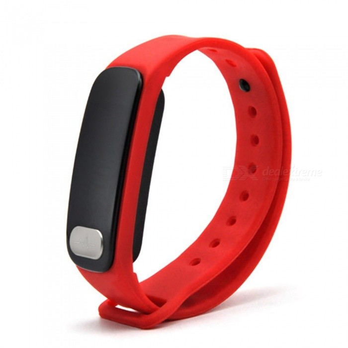 R11 Smart Wristband ECG Heart Rate Blood Pressure Measurement - RedSmart Bracelets<br>Form  ColorRed + BlackQuantity1 setMaterialABSShade Of ColorRedWater-proofIP65Bluetooth VersionBluetooth V4.0Touch Screen TypeYesCompatible OSAndroid 4.4 or IOS8.0 and above sBattery Capacity80 mAhBattery TypeLi-polymer batteryStandby Time5 daysPacking List1 x Fitness Tracker1 x Charging Cable1 x User Manual<br>