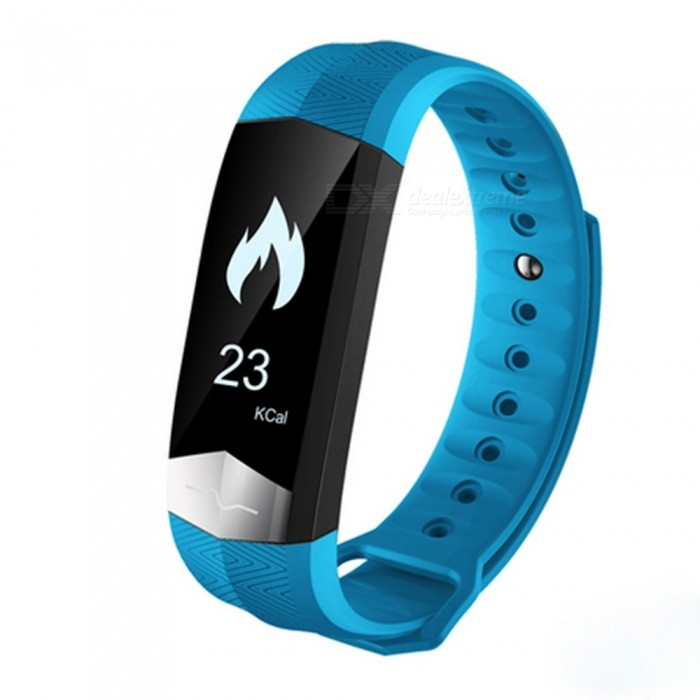 CD01 Smart Band Bracelet w/ Blood Pressure Heart Rate Monitor - BlueSmart Bracelets<br>Form  ColorBlue + BlackQuantity1 DX.PCM.Model.AttributeModel.UnitMaterialABSShade Of ColorBlueWater-proofIP65Bluetooth VersionBluetooth V4.0Touch Screen TypeYesCompatible OSIOS 8.2 and above and Android 4.4and aboveBattery Capacity85 DX.PCM.Model.AttributeModel.UnitBattery TypeLi-polymer batteryStandby Time5-7 DX.PCM.Model.AttributeModel.UnitPacking List1XSmart Wristband 1XUser manual<br>