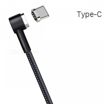 HOCO Type-C to USB Magnetic Charging Cable for Phone - Black