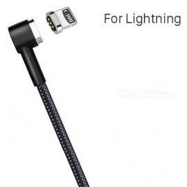 HOCO Lightning to USB Magnetic Charging Cable for IPHONE - Black