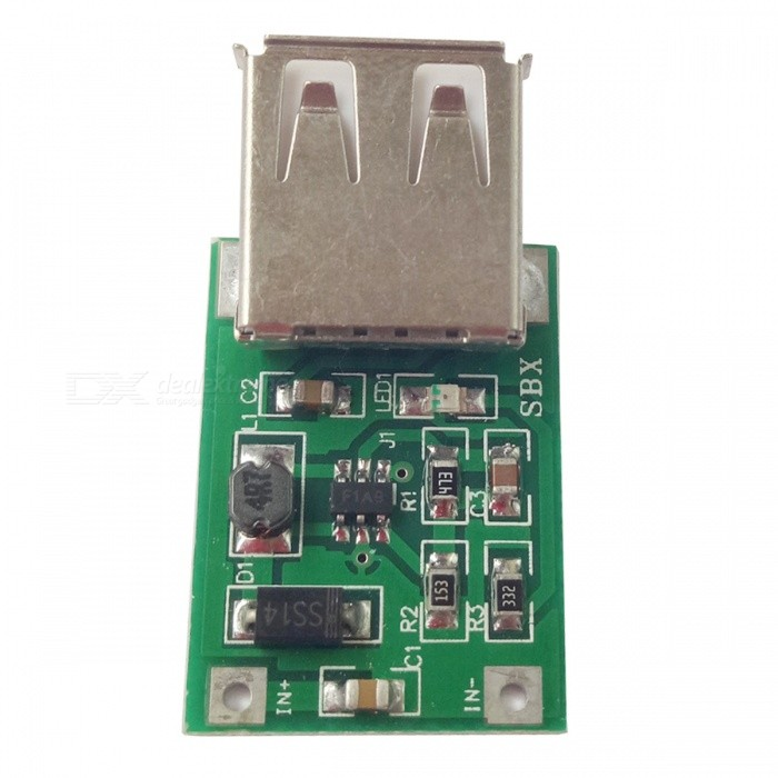 DC-DC0.9V~5V TO 5V Boost Module, USB 600MA Circuit BoardPower Module<br>Form  ColorGreen + MulticoloredModelSBX-125Quantity1 pieceMaterialPCE-AInput Voltage0.9V-5V VMax. Output Current600 mAWorking Temperature-40---+85 ?Conversion Efficiency96%English Manual / SpecNoDownload Link   N/APacking List1 x Boost module<br>