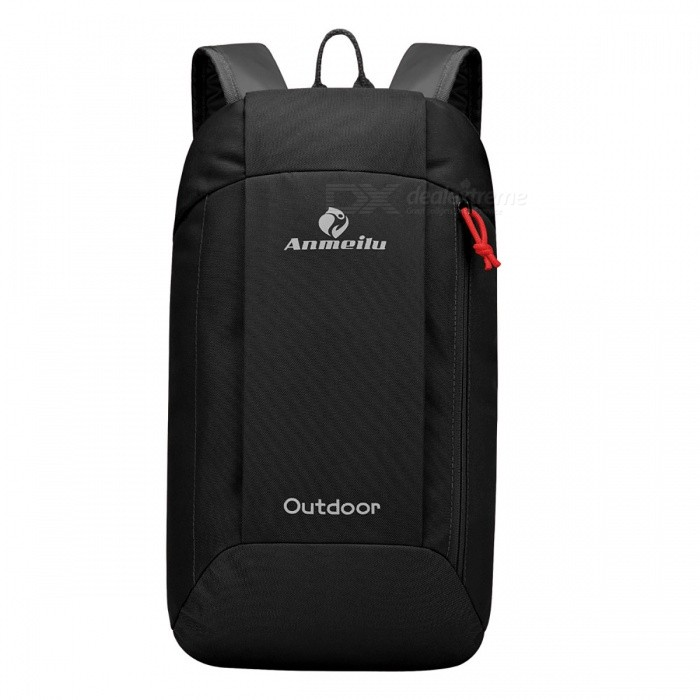 10L Outdoor Sport Camping Hiking Travel Backpack - BlackForm  ColorBlackBrandOthers,Others,N/AModelN/AQuantity1 DX.PCM.Model.AttributeModel.UnitMaterialNylonTypeHiking &amp; CampingGear Capacity10 DX.PCM.Model.AttributeModel.UnitCapacity Range0L~20LRaincover includedNoBest UseClimbing,Family &amp; car camping,Mountaineering,Travel,CyclingPacking List1 x Backpack<br>