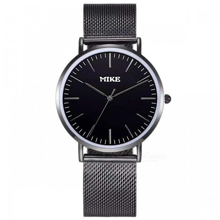 MIKE 8070 Simple Style Unisex Quartz Watch - BlackQuartz Watches<br>Form  ColorBlackModel8070Quantity1 DX.PCM.Model.AttributeModel.UnitShade Of ColorBlackCasing MaterialAlloyWristband MaterialMetalSuitable forCoupleGenderUnisexStyleWrist WatchTypeFashion watchesDisplayAnalogBacklightNoMovementQuartzDisplay Format12 hour formatWater ResistantFor daily wear. Suitable for everyday use. Wearable while water is being splashed but not under any pressure.Dial Diameter4 DX.PCM.Model.AttributeModel.UnitDial Thickness1 DX.PCM.Model.AttributeModel.UnitWristband Length23 DX.PCM.Model.AttributeModel.UnitBand Width2 DX.PCM.Model.AttributeModel.UnitBattery626Packing List1 x Watch<br>