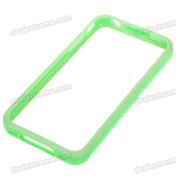 Stylish Protective Bumper Frame Case for Iphone 4 / 4S- Green
