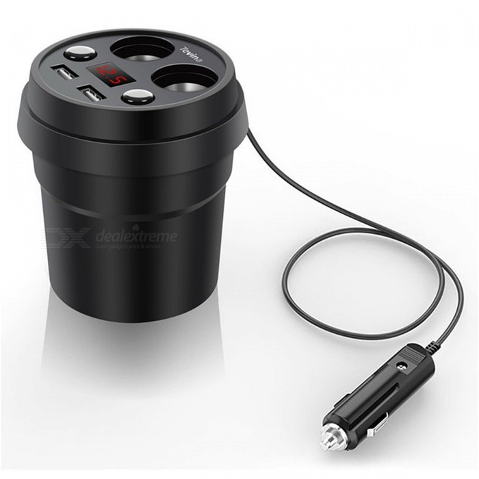 Dual USB DC 5V 3.1A Cup Power Socket Adapter�� Car Charger