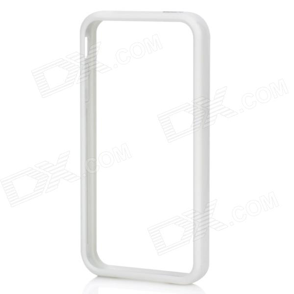 Stylish Protective Bumper Frame Case for Iphone 4 / 4S - White