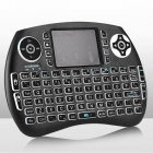 iPazzPort Mini Wireless Keyboard with RGB Backlit for PC, Smart TV